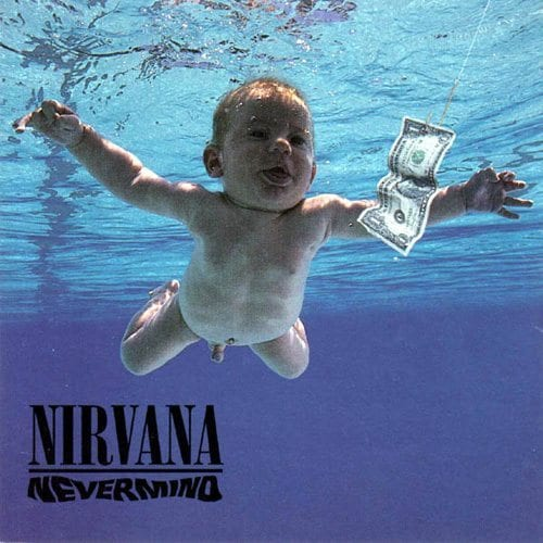 Nirvana, Nevermind, cover