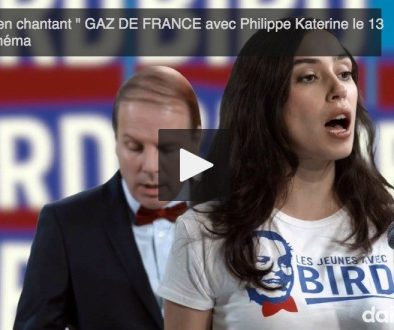 Katerine, clip, selfies, video, homme politique, rigueur, gaz de france.