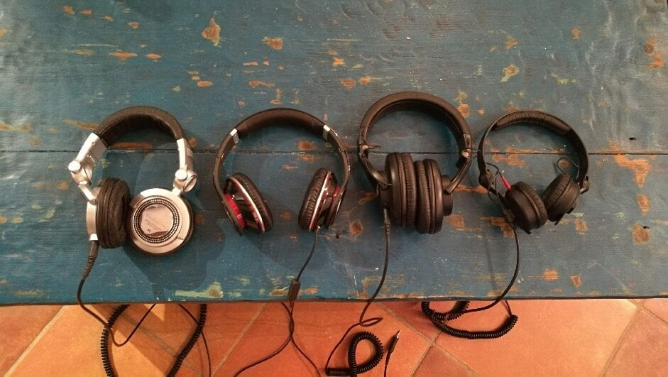 comparatif casques DJ