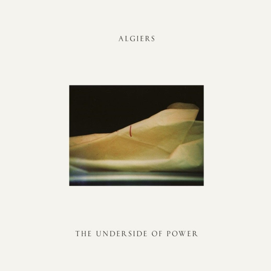 Algiers, The Underside Of Power, cover