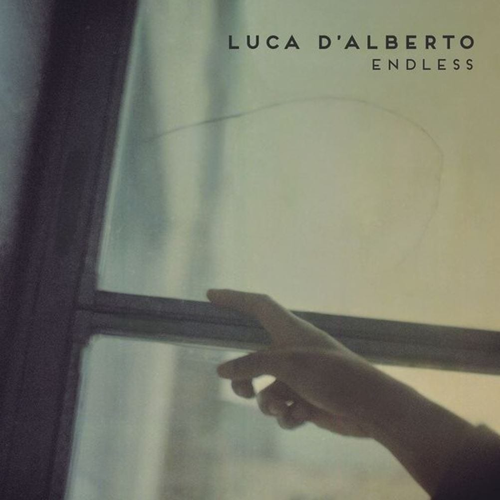 Luca D'Alberto, Endless, cover