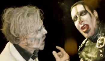 Marilyn Manson, Johnny Depp, SAY10, clip