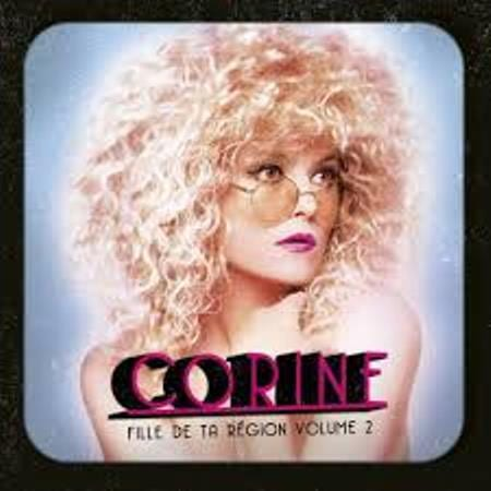 Corine, Fille de ta région - vol 2, EP, cover