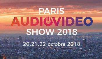 Paris AudioVideo Show 2018