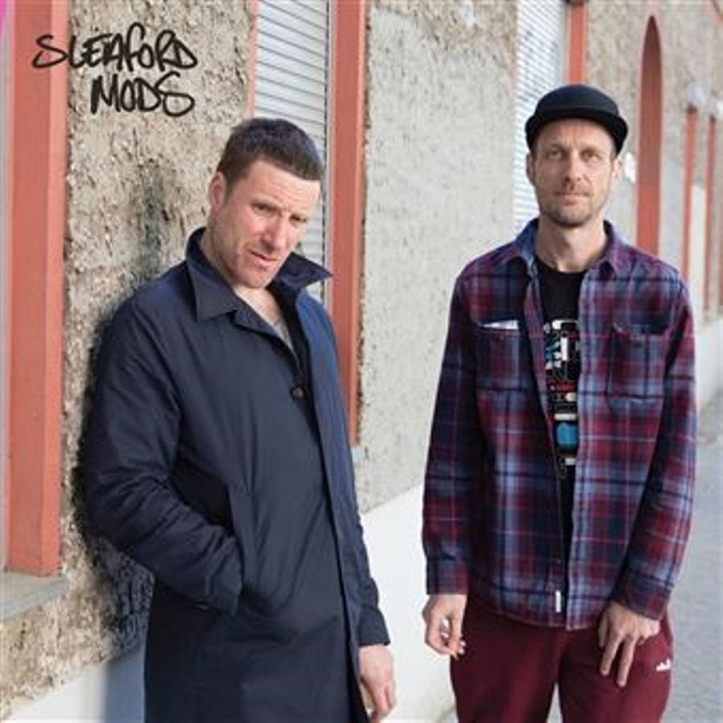 Sleaford Mods, EP, cover