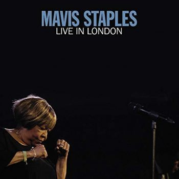 Mavis Staples, Live In London, cover