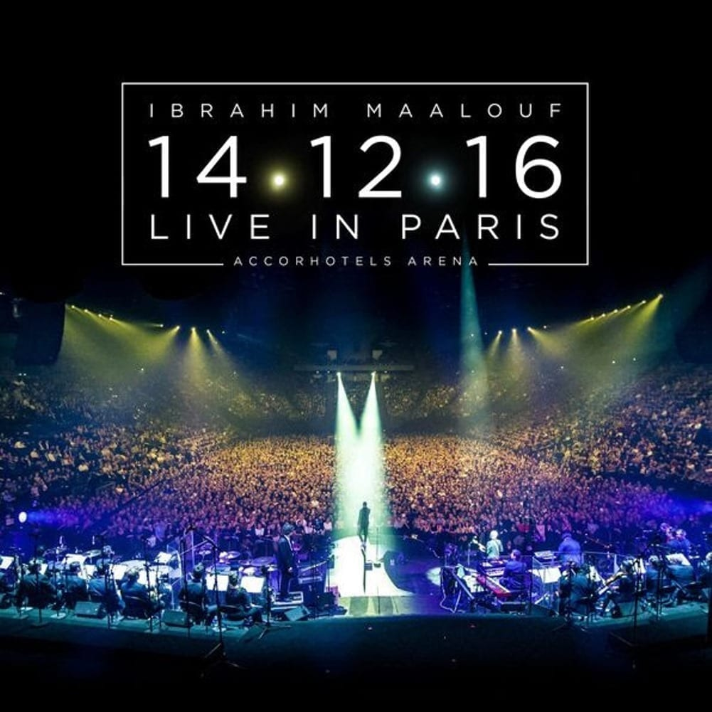 Ibrahim Maalouf, 14.12.16 Live In Paris, cover