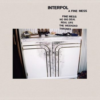 Interpol, A Fine Mess, EP, cover