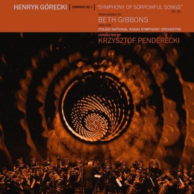 Beth Gibbons & the Polish National Radio Symphony, Henryk Górecki, Symphony No. 3, cover