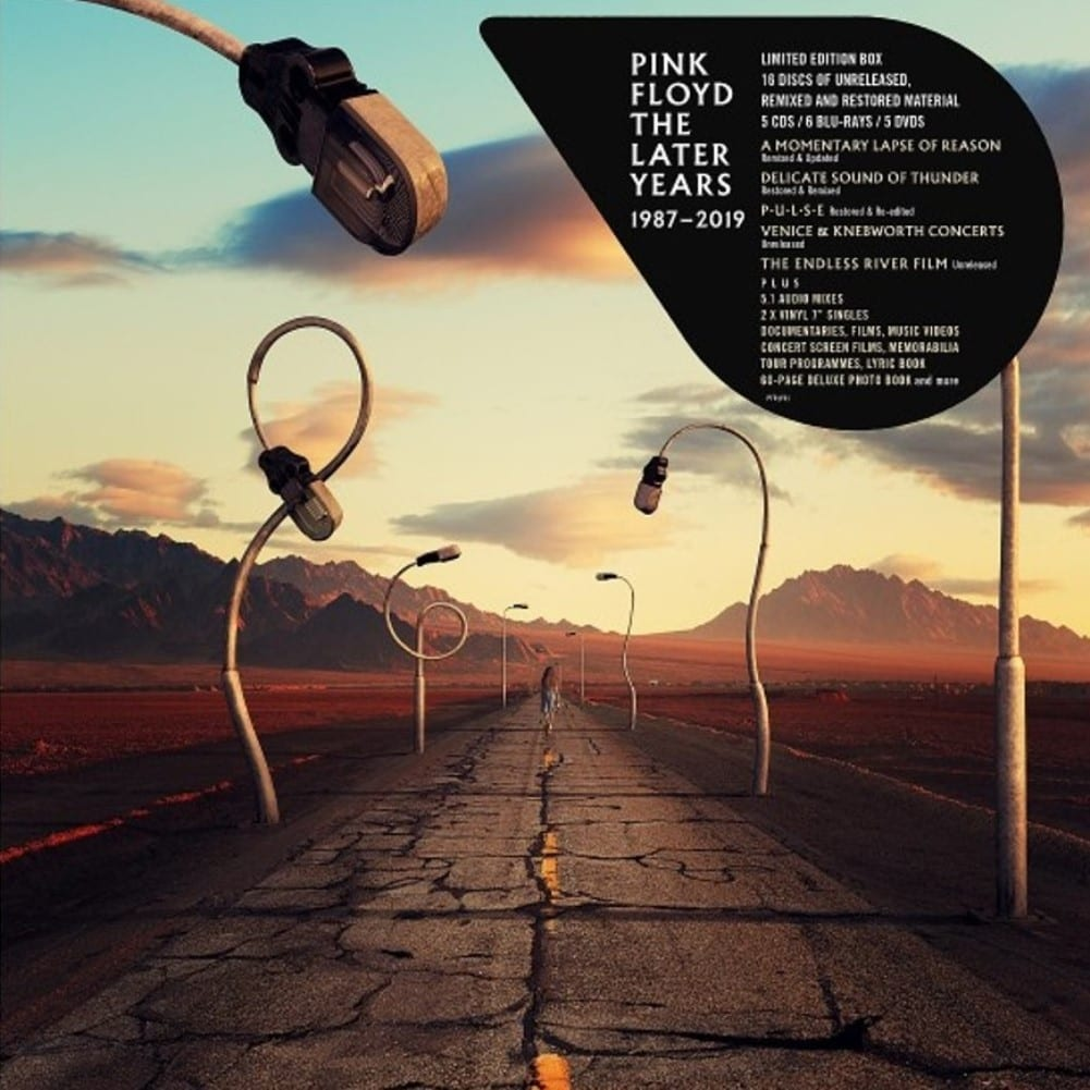 Pink Floyd, The Later Years 1987 - 2019, cover