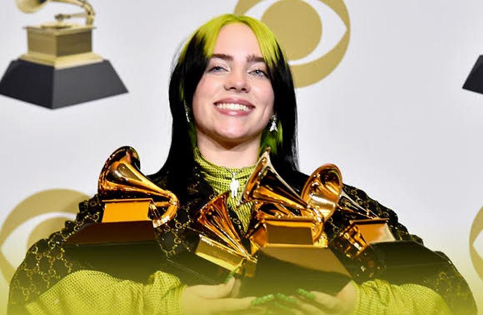 Billie Eilish, Grammy Awards