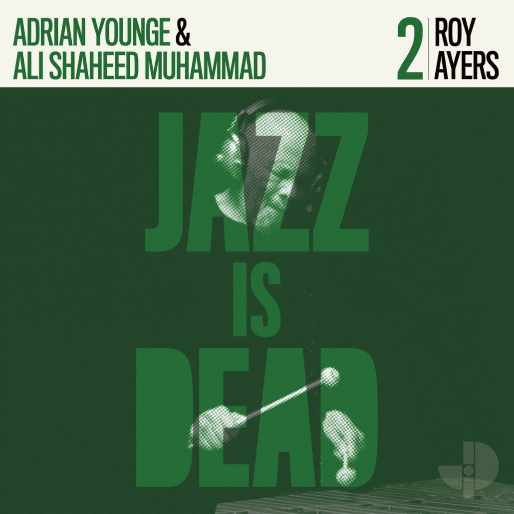 Jazz Is Dead, pochette, roy ayers, vibraphone
