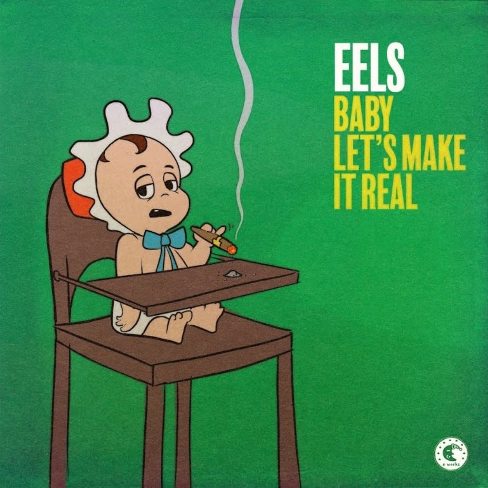 Eels, Baby Let's Make It Real, single, cover