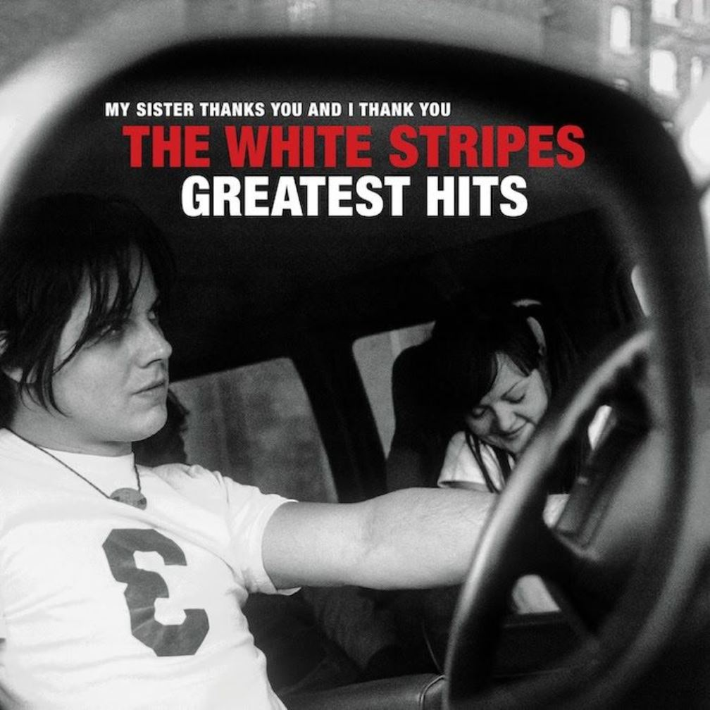 The White Stripes, The Greatest Hits, cover