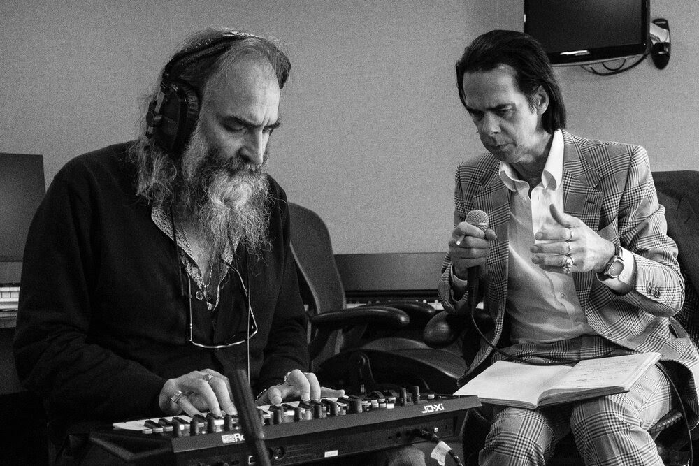 Nick Cave and Warren Ellis, band, promo