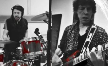 Mick Jagger, Dave Grohl, Eazy Sleazy, clip