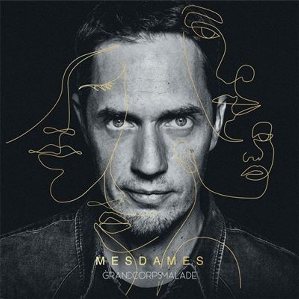 Grand Corps Malade, Mesdames deluxe, cover