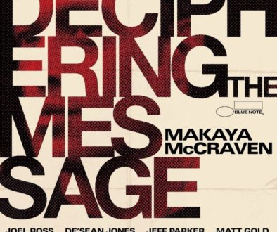 Makaya McCraven, Deciphering The Message, cover